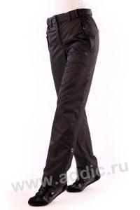 Брюки утепленные женские из плащевой ткани с флисовой подкладкой (26L-4X-475)