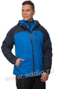 Куртка мужская на флиссовой подкладке (66M-4K-460)