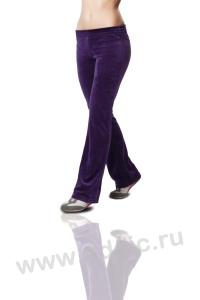 Женские спортивные брюки велюровые (LSP10-01)