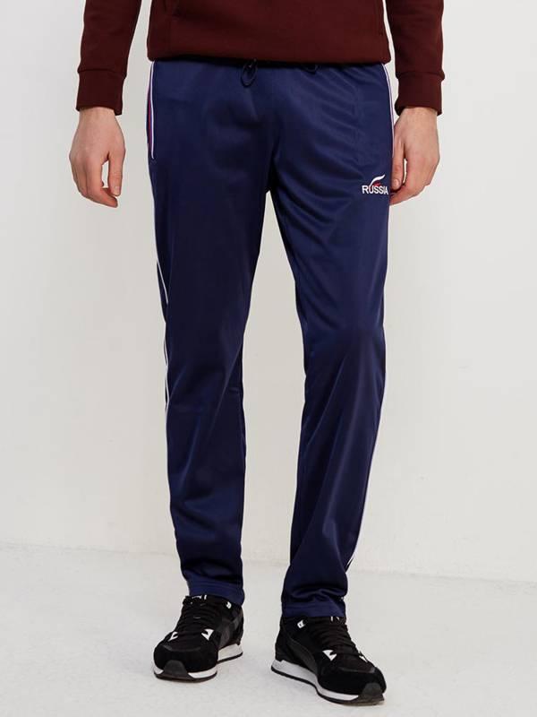 Темно-синие мужские спортивные брюки  Addic Sport 20M-00-328