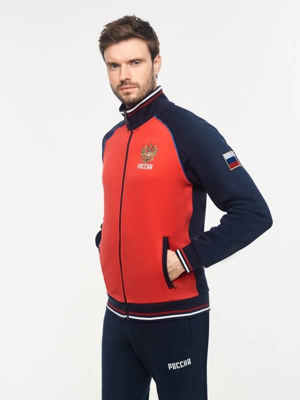 Спортивный костюм мужской RUSSIA 12M-RR-1270 Red-n-Rock's
