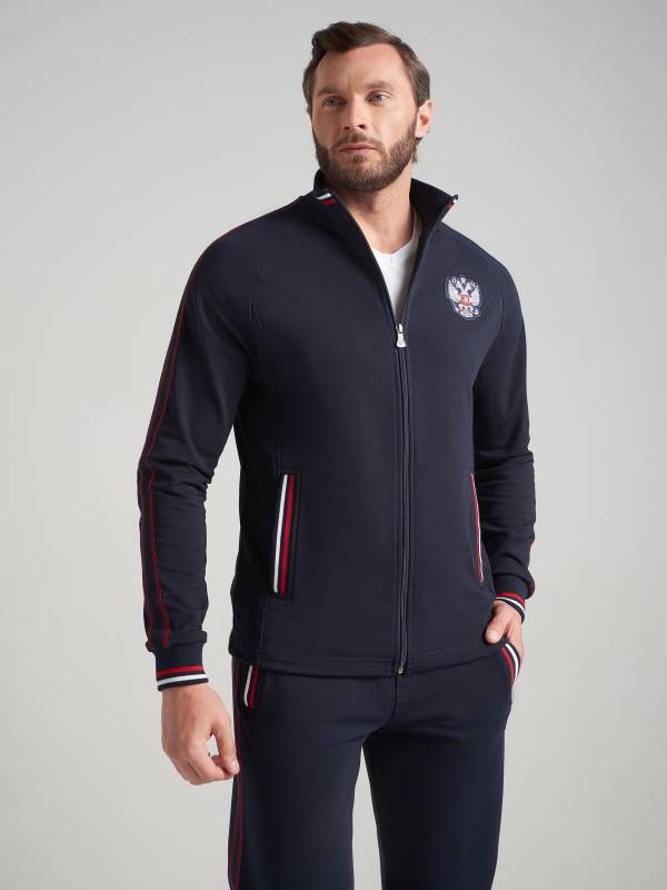 Спортивный костюм мужской RUSSIA 11M-RR-407/3 Red-n-Rock's