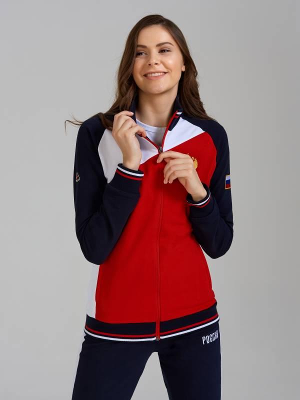 Спортивный костюм женский RUSSIA 11L-RR-1309B Red-n-Rocks