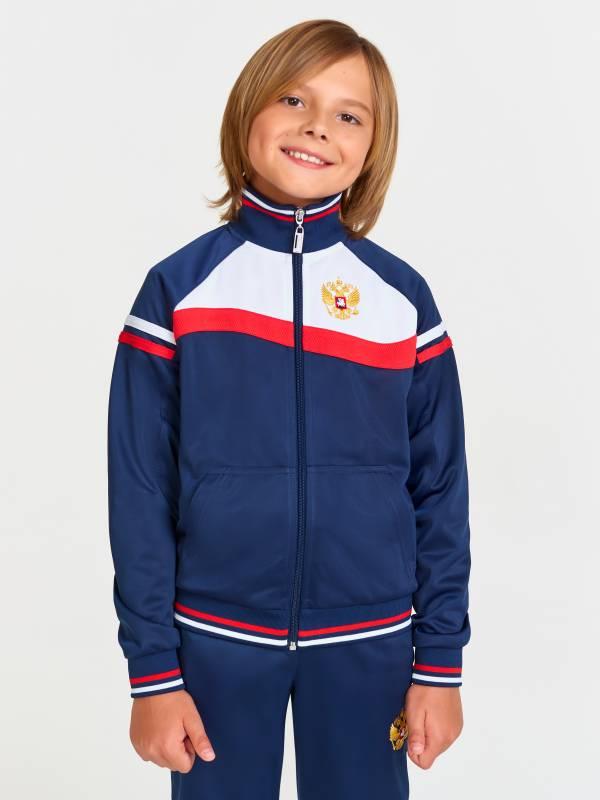 Спортивный костюм детский RUSSIA 10C-AF-896 ADDIC