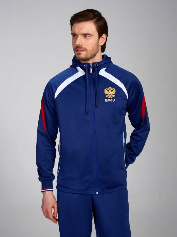 Спортивный костюм мужской RUSSIA 10M-00-374/1 ADDIC