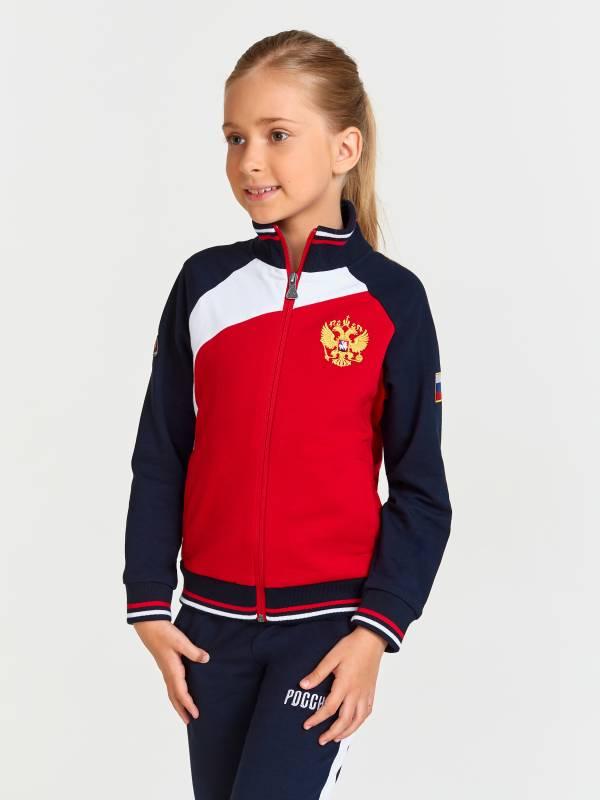 Спортивный костюм детский RUSSIA 11C-RR-1309C Red-n-Rocks